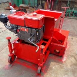 柴油拦水带滑模机